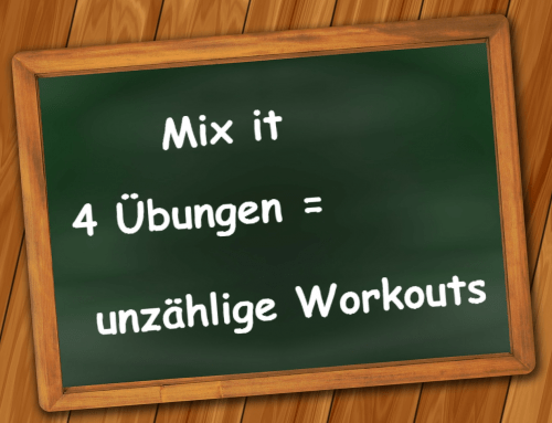 Mix it: Vier Übungen – unzählige Trainingspläne