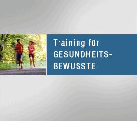 Training für Gesundheitsbewusste